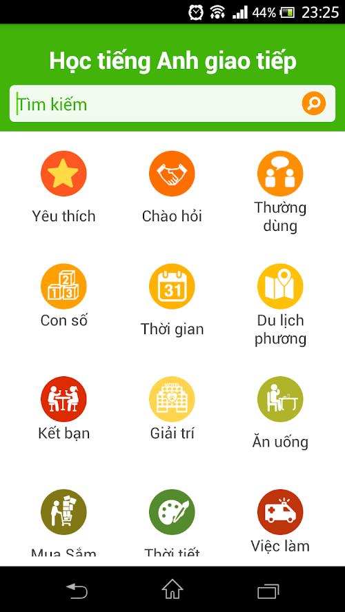 ứng dụng học tiếng Anh cho người mất gốc