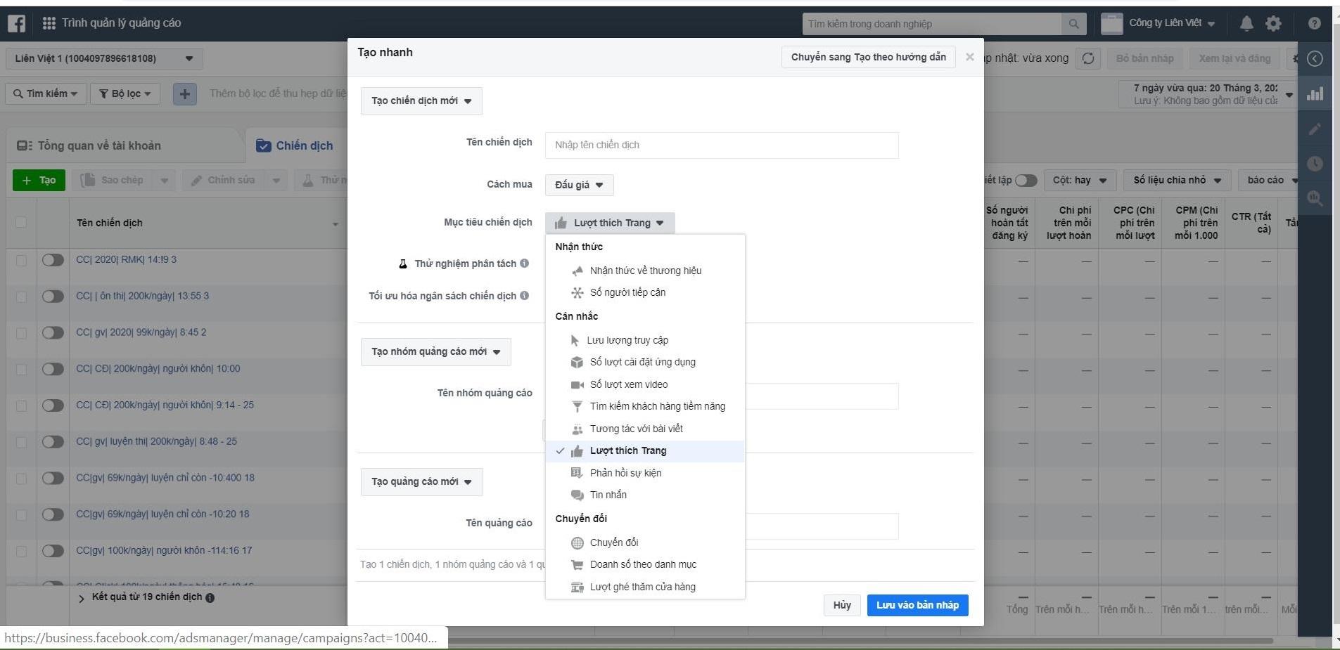 Tăng lượt theo dõi Facebook bằng cách chạy quảng cáo Facebook
