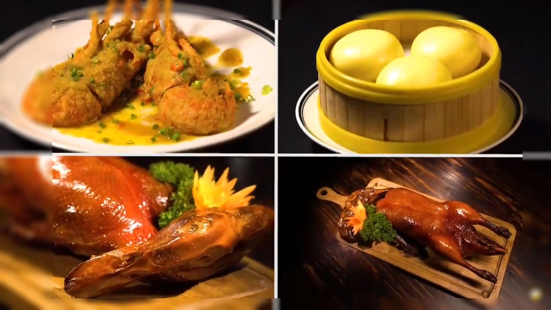 Những món ăn hấp dẫn tại nhà hàng đều được chế biến công phu